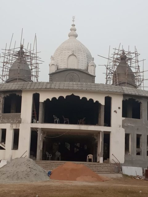 Greater Noida Kalibari Temple (Under Construction) - Close-up view