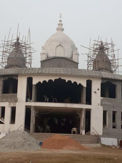 Greater Noida Kalibari Temple (Under Construction) - Close-up view